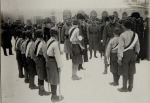 Im Jänner 1917 besuchte Karl I. die Front in Südtirol
